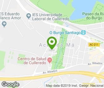 Cómo llegar a Clínica Dental Cuidadent - Dentistas en O Burgo - Culleredo (A Coruña)